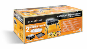 Blackstone 2 Burner Tailgater Combo Grill And Griddle