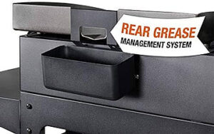 Blackstone rear grease management system