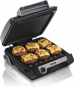 Hamilton Beach 4-in-1 Grill And Electric Griddle Combo