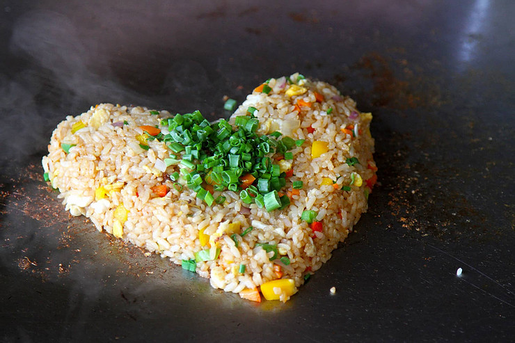 Griddle Fried Rice