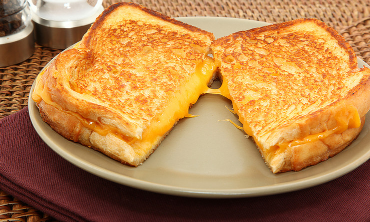 Griddle Grilled Cheese