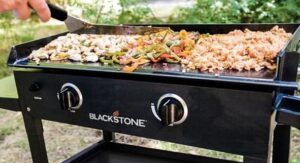 Blackstone 28 inch griddle food