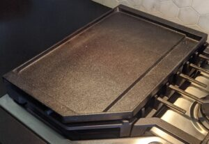 Griddle on a stovetop