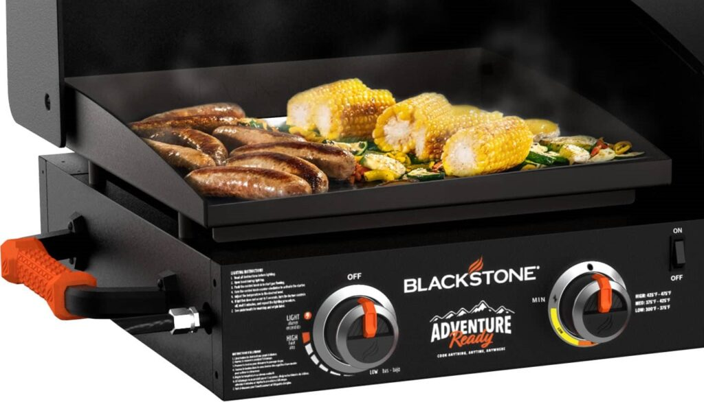 Blackstone Adventure Ready Griddle with air fryer