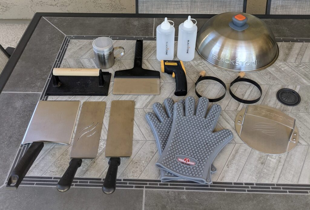 Blackstone Griddle Tools and Accessories