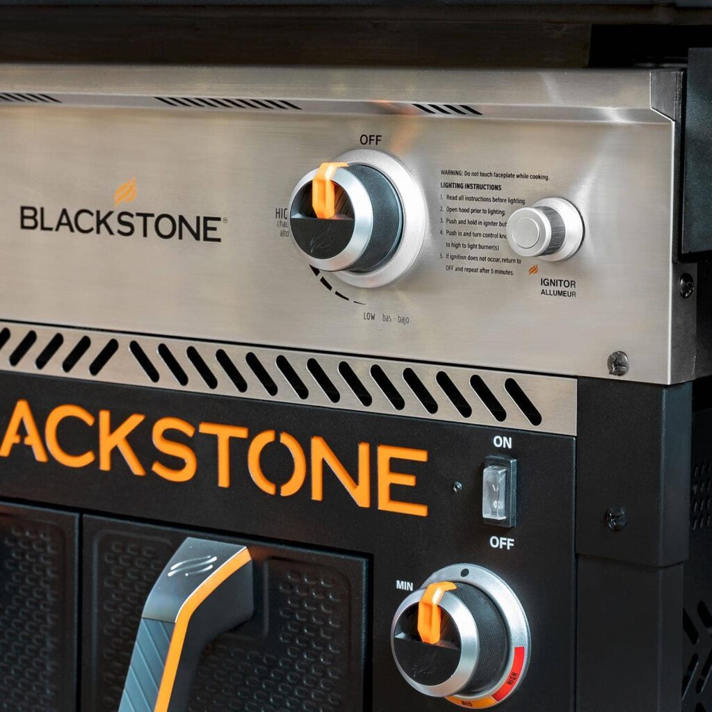Blackstone 28 inch griddle with air fryer