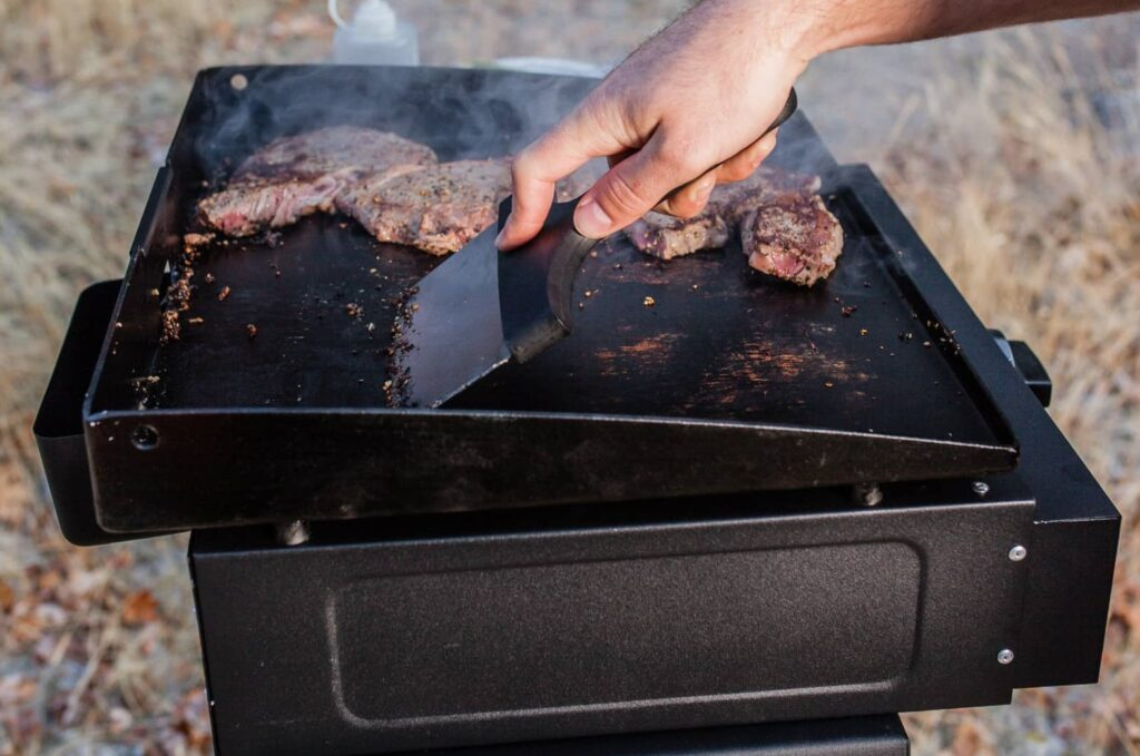 Cleaning Blackstone Adventure Ready 17 inch griddle